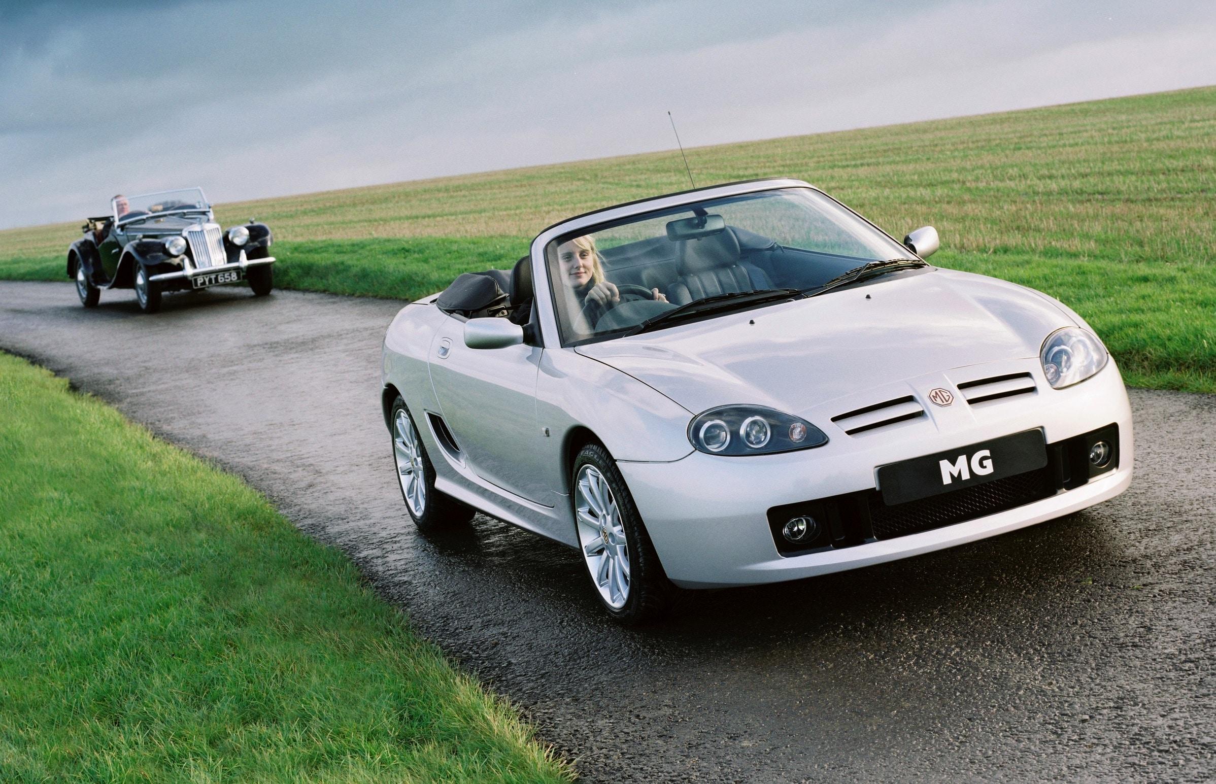 MG TF, MG, TF, MGF, sports car, sportscar, mid-engine, K series, British car, classic car, retro car, old car, convertible, car club, rear-wheel drive, Longbridge, Rover, car, cars, ebay, ebay motors, autotrader