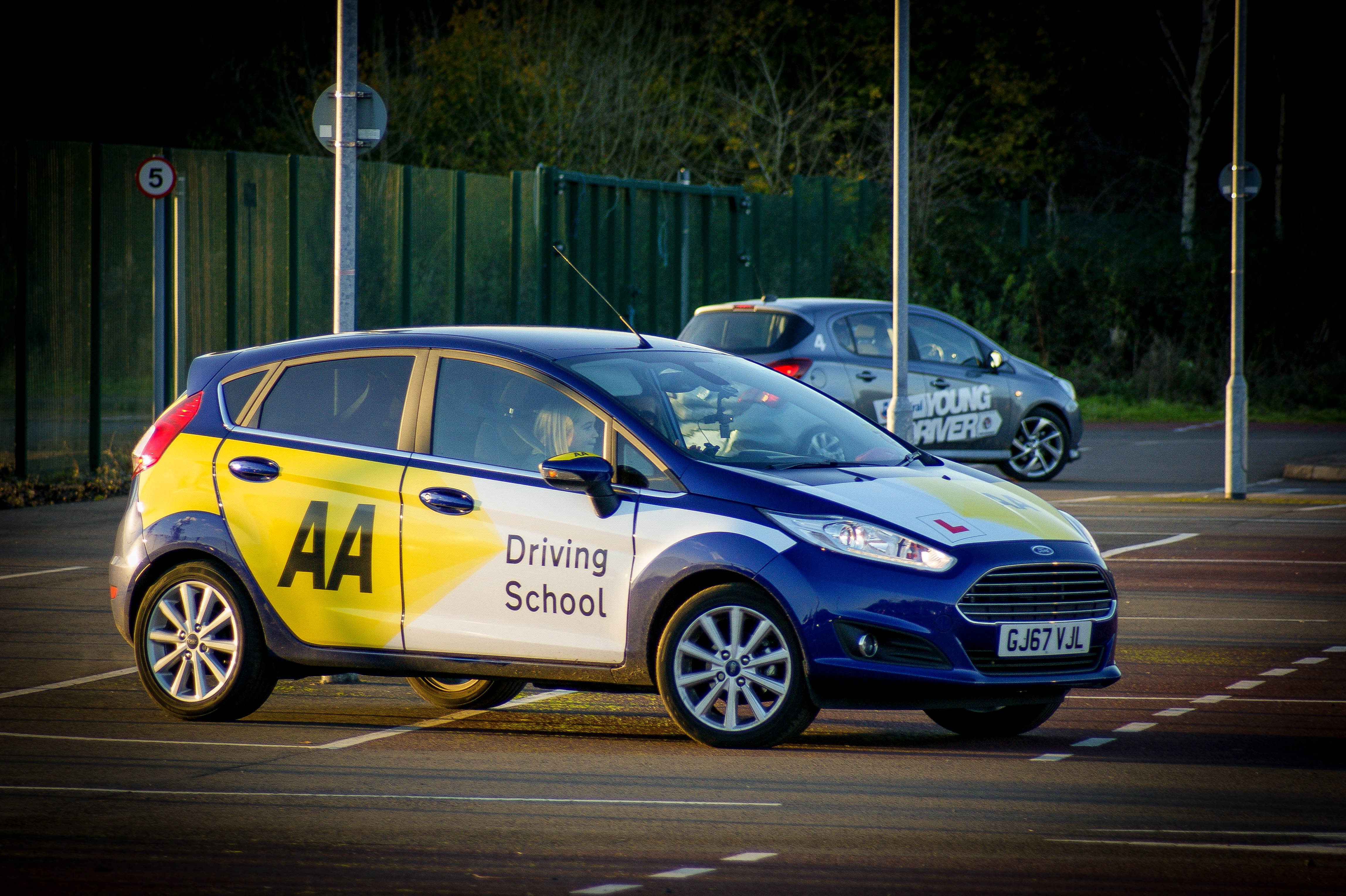 Young Driver, Young, driver, driving lesson, motoring, automotive, Vauxhall, car, cars, learning to drive, driving experience, motoring, automotive, Ford, Fiesta, Ford Fiesta, Vauxhall Corsa